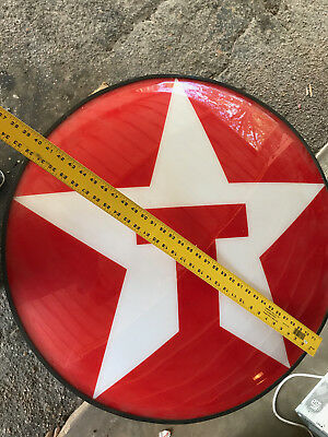 TEXACO flourescent lighted Star