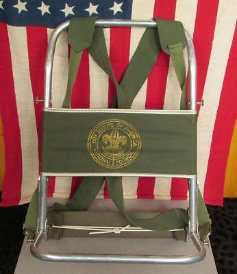 Vintage 1960s Boy Scouts of America Official External Backpack Frame Aluminum