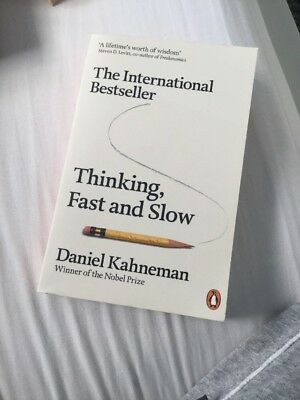 Thinking Fast and Slow by Daniel Kahneman (Paperback, 2012)