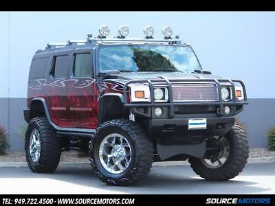 2003 Hummer H2 Custom Build 2003 Hummer H2 SEMA Show Truck, Lifted, Custom Stereo, 24 inch TV, Navigation