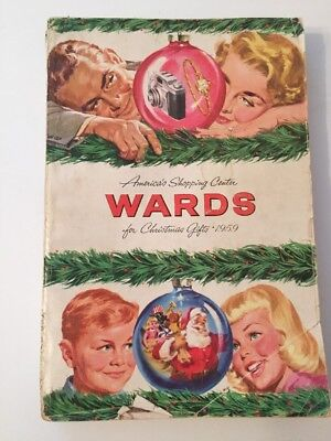 Vintage 1959 Wards Christmas Catalog 556 Pages Toys & More