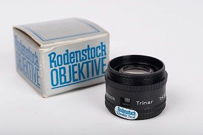 Enlarger Lens Rodenstock Trinar 1:4,5 75mm