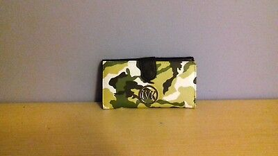 IVK green camouflage purse/clutch bag
