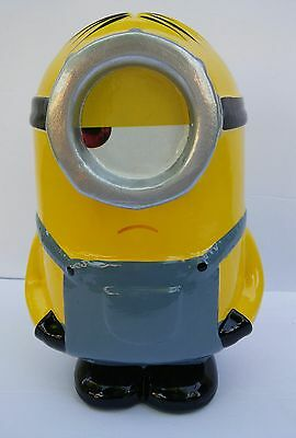 Despicable Me, Minions, Stuart Coin Bank, Piggy Bank, Ceramic, Decorative *NEW*
