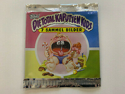 1994 German Garbage Pail Kids WRAPPER Die Total Kaputten Kids (0-475-04)
