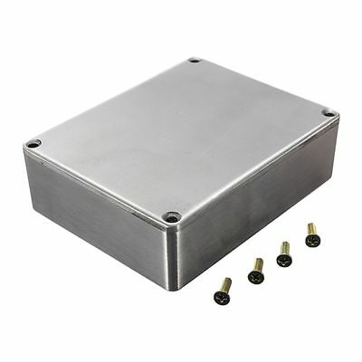 1590BB Guitar Effects Box Container Aluminum 120x95x35mm Silver Z8L6