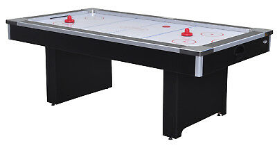 7ft Air Hockey Table by Gamesson Includes Pucks & Pushers Coliseum II PVC Free