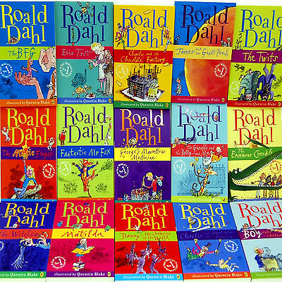 Roald Dahl Collection 36 Classic story for eReader Kindle Books on CD mobi epub