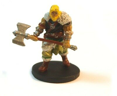Wizkids D&D Icons of the Realms Epic Level Starter,  Northlands fighter #4 NM-M