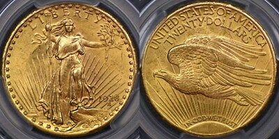 United States of America, 1928 Double Eagle or Twenty Dollar - PCGS MS62