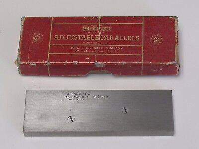Starrett 154-D adjustable parallel