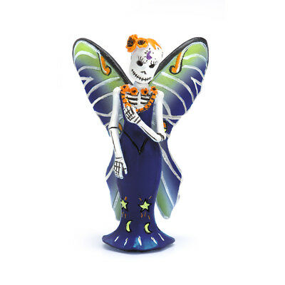 Fairy Garden Halloween Miniature - Day Of The Dead Luna Fairy