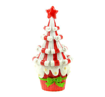 Fairy Garden Christmas Miniature - Candy Cane Tree