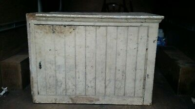 Antique Pine  Cupboard  shabby chic circa 1880