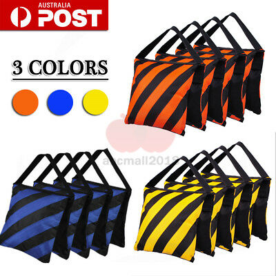 3 Color Photography Sand Bags Sandbag Weight Ballast For Boom Arm Light Stand AU