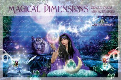 Magical Dimensions Oracle Cards and Activators by Lightstar 9780764353451