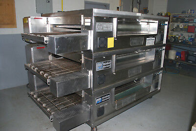 Middleby Marshall PS570s Refurbished  Triple Stack Pizza Conveyor Ovens