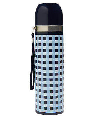 New Swell Gingham Camping Thermos Aluminium