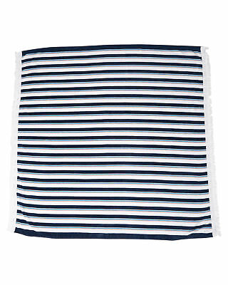 New Swell Stripe Square Towel Cotton Beach Sea Pool Bath Absorbent