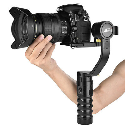 AFI 3-Axis Brushless Handheld Gimbal Alloy Stabilizer For Mirrorless DSLR Camera