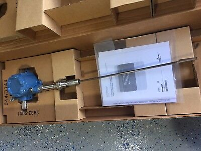 Emerson Rosemount 644 Temperature Transmitter IECEx with PT100 RTD Sensor Probe