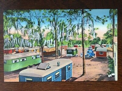 One Of Many Trailer Camps In The Sunshine State, Florida