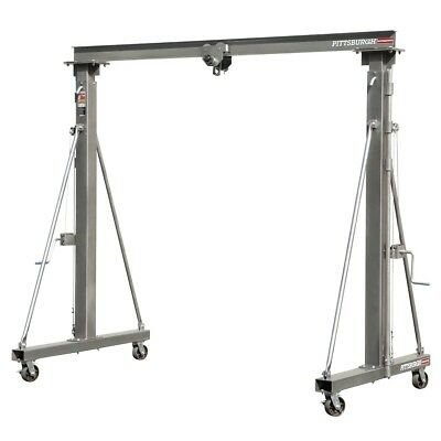 1 ton Capacity Telescoping Gantry Crane  lifts up to 2000 lb.