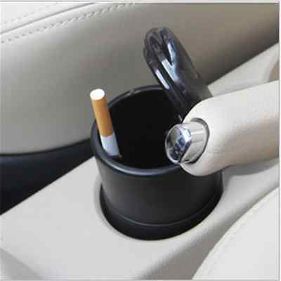 1XLED Auto Car Truck Cigarette Smoke Ashtray Ash Cylinder Holder For Office/Home