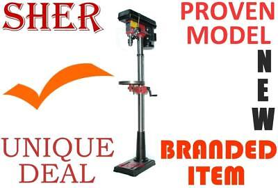 Drill Press SHER Pedestal 12-spd, Branded item with service back up fo long run*