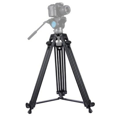 PULUZ PU3003 Video Camcorder Aluminum Alloy Tripod for DSLR/Digital Cameras