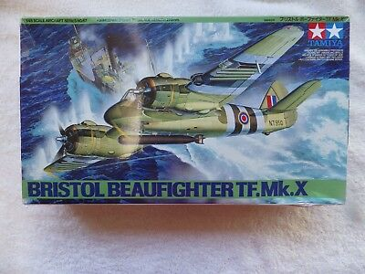 TAMIYA 1/48TH BRISTOL BEAUFIGHTER TF.Mk. x  + MANY MANY Extras