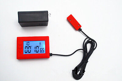 Infrared Racing Lap Timer Transmitter Receiver Racing Time Track Tool Red