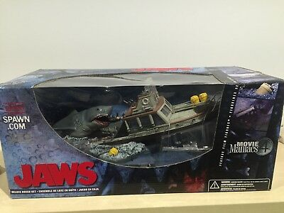 Movie Maniacs Series 4 -JAWS Deluxe Boxed Set- Complete With Box (not sealed)