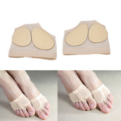 Belly Ballet Dance Paws-Cover Foot Forefoot Toe Undies Thong Half Lyrical Shoe