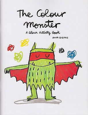 The Colour Monster A Colour Activity Book by Anna Llenas BRAND NEW P/B 2016