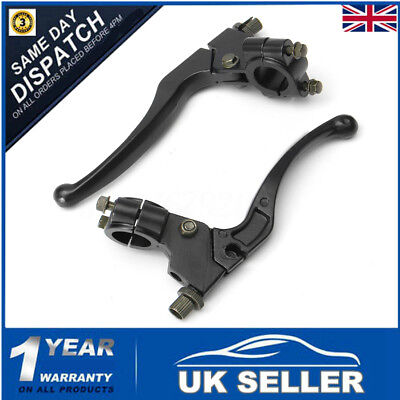"7/8"" 22mm Motorcycle Side Brake & Clutch Lever Perch Set For Honda Yamaha Suzuki"