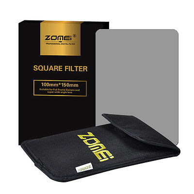 ZOMEI 72mm Square filter kit Full ND2+ND4+ND8+Holder+Ring for Cokin Z 150*100mm