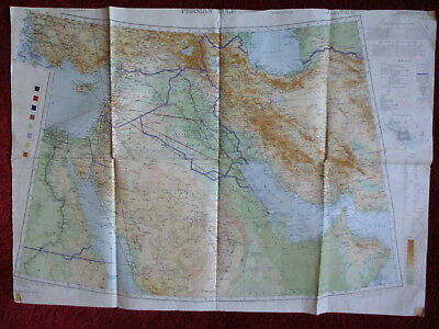 Military Map Middle East & Persian Gulf 1942
