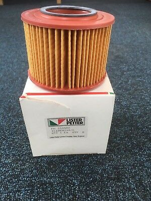 Genuine Lister Petter Air Filter Element 334402