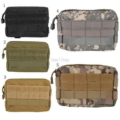AU Outdoor Compact Hunting Military Tactical Molle Bag Tools Utility Pouch Case