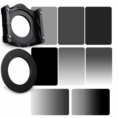 ZOMEI 150mm GND2/4/8/16 Neutral Dendity Filter&82mm Ring+Holder Kit For Cokin Z