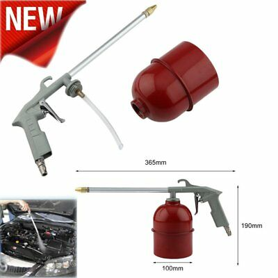 Auto Car Engine Cleaning Gun Solvent Air Sprayer Degreaser Siphon Tool Gray AU
