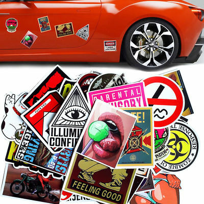 30 Pieces Sticker Bed Wall Car Snowboard Cat Eye Cup Wall Motorcycle Decor Decal