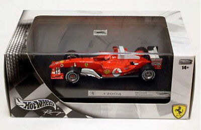 HWB6206 by HOT WHEELS FERRARI F2004 M. SCHUMACHER 1:43
