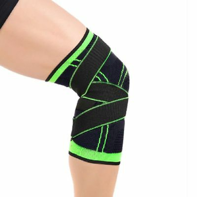 1pcs 3D Sports Weaving Knee Brace Breathable Sleeve Support for Running Jogging