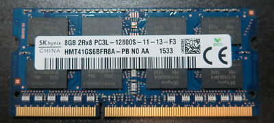 HYNIX 8GB DDR3 12800S 1600MHZ PC3L Laptop Memory