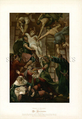 1890 Bible Master Painting #116 Deposition from the Cross