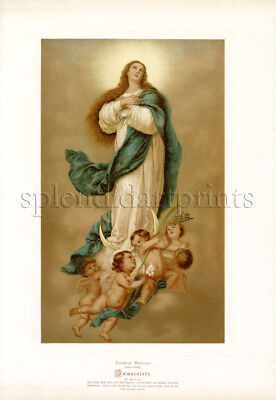 1890 Bible Master Painting #092 Immaculata