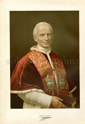 1890 Bible Master Painting #001 Pope Leo XIII