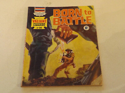 VALIANT PICTURE LIBRARY,NO 86,1966 ISSUE,GOOD FOR AGE,51 yrs old,V RARE COMIC.